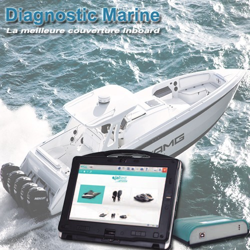 Valise de diagnostic Marine inboard